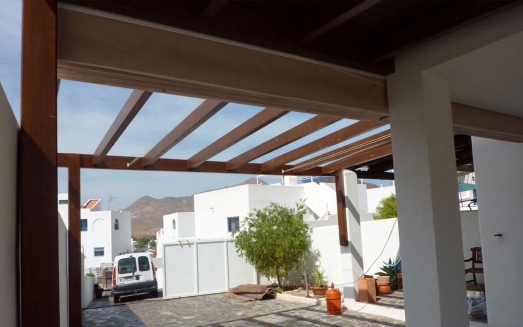 Pergolas y toldos para terrazas benoit roubaud - Toldos y pergolas para terrazas ...