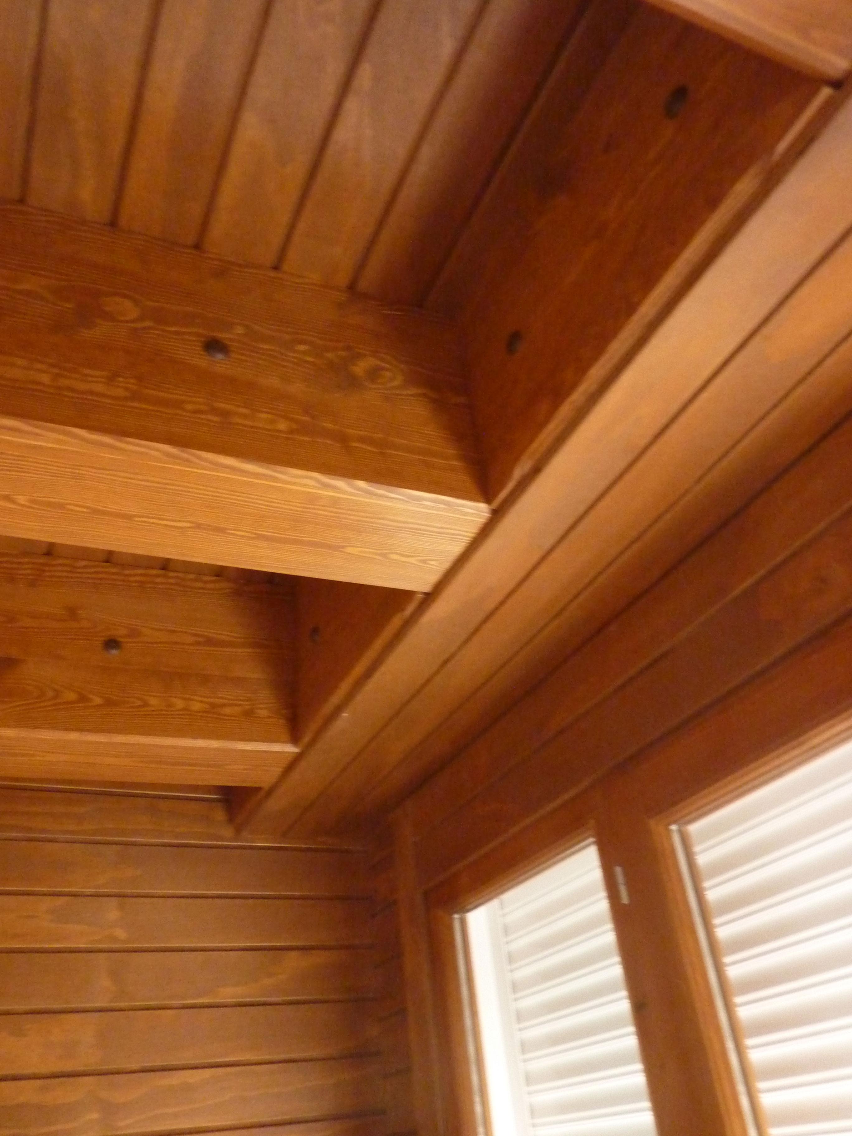 Cerramiento madera terraza atico benoit roubaud - Cerramiento de madera ...
