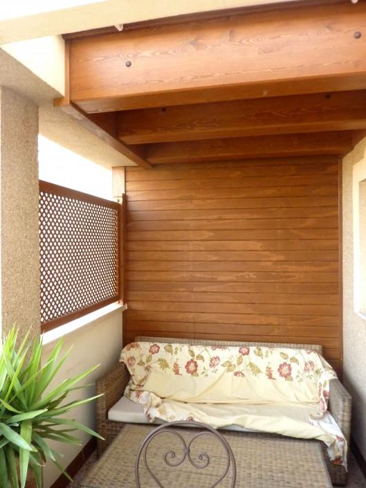 Cerramiento madera terraza atico benoit roubaud - Cerramientos en madera ...
