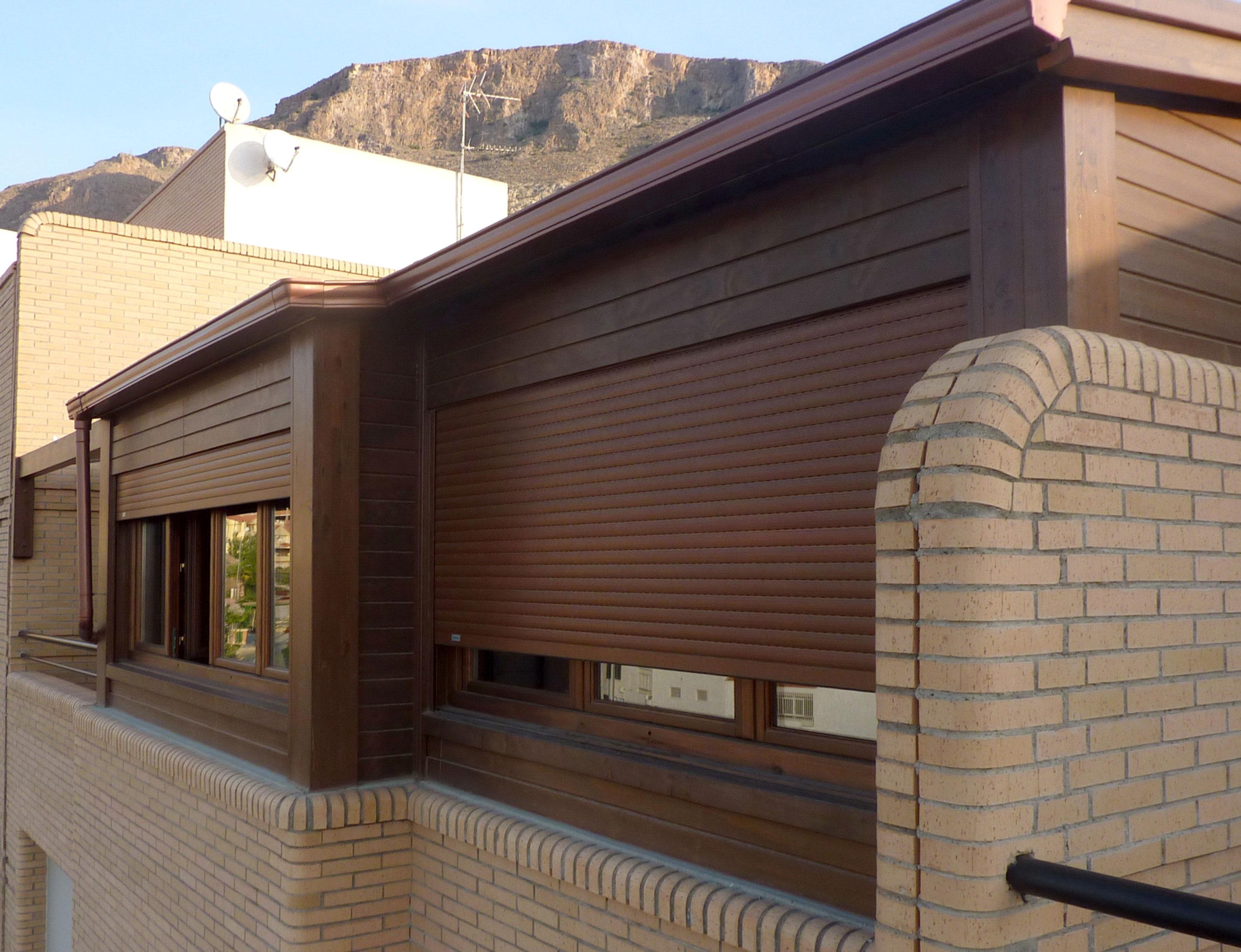 Cerramientos de madera para aticos benoit roubaud - Cerramientos de terraza ...