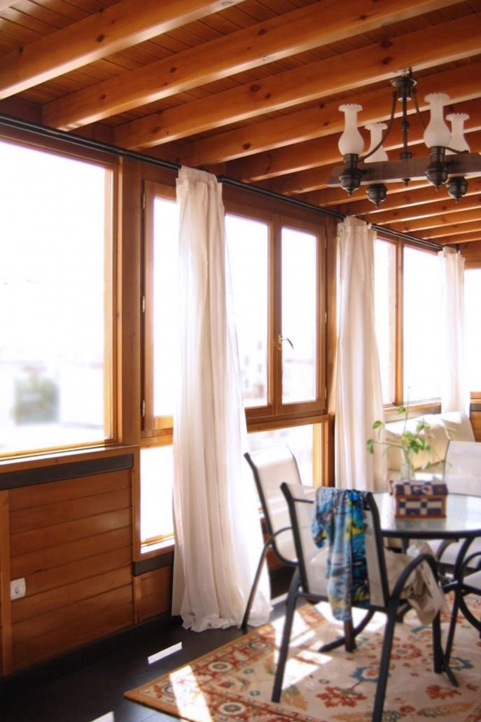 Cerramiento de aticos cool cerramiento atico zizur x with for Cerramiento terraza sin licencia