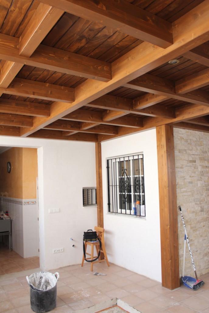 Cerramientos de patios en madera benoit roubaud artesano - Cerramientos en madera ...