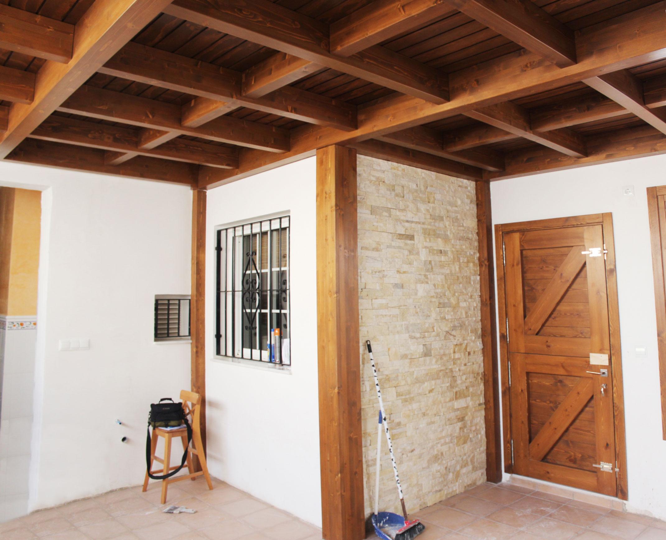 Cerramientos de patios en madera benoit roubaud artesano - Cerramiento de madera ...
