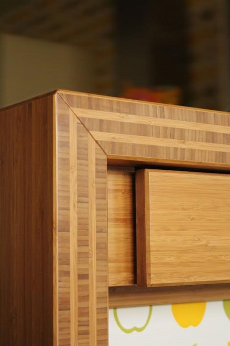 Cantos vistos muebles de Bambú