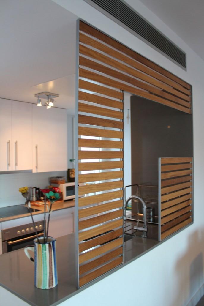 Cocina salon comedor saln comedor y cocina office en un - Salon comedor cocina mismo espacio ...