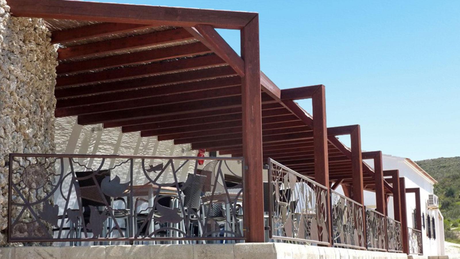 Pergolas de madera para terrazas benoit roubaud - Pergolas de madera para terrazas ...