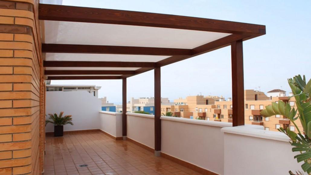 Pergolas de madera minimalistas benoit roubaud - Pergolas de madera en sevilla ...